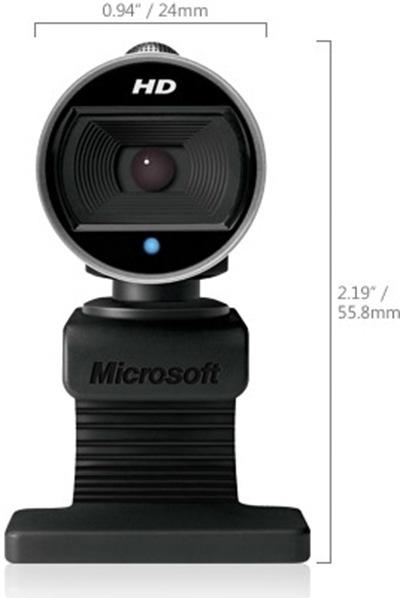 lifecam Cinema - webcam com alta definição