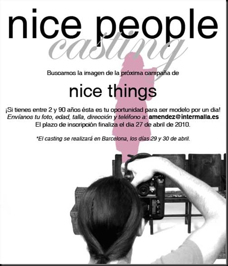 NICE THINGS CASTING_CONVOCATORIA