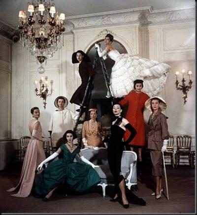 Loomis_Dean_1957_Dior_Paris_dior vintage a%C3%B1os 50 salones