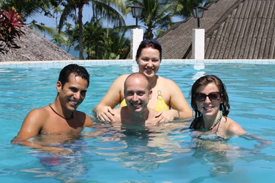 Aniversário na Costa Rica