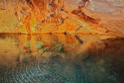 Uma das minhas melhores fotos de sempre, nas Crystal Caves em Bermuda.