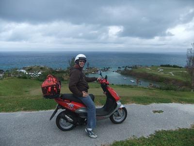 Acabadinho de atravessar Bermuda de uma ponta à outra. Aqui à chegada ao forte em St. George.