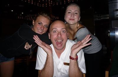 Uma noite de trabalho... no Bar!