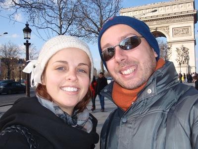 Com a Nikki nos Champs-Elysées