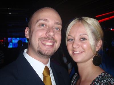 Jenny e eu. Uma noite em grande na disco!