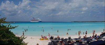 Half Moon Cay, a tal ilha privada que visitamos a cada duas semanas