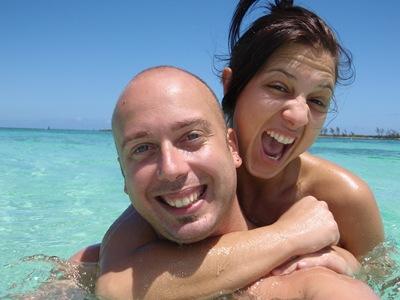 Pesquei a Dia em Nassau esta foto foi só para te fazer inveja, Douradinha!