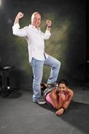 Com a JoJo, a minha entertainer favorita!