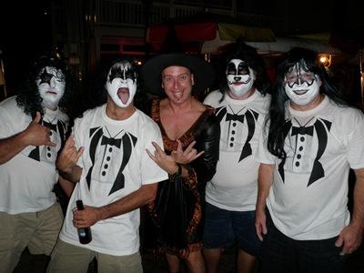Nem os Kiss se baldaram à festa