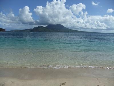 A praia onde passei o dia de hoje... que chatice!
