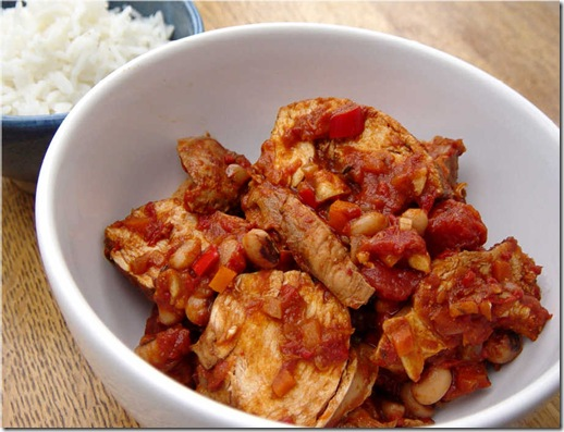 Tea-poached Chicken Chilli