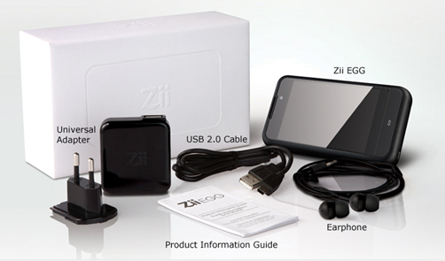 Zii EGG box