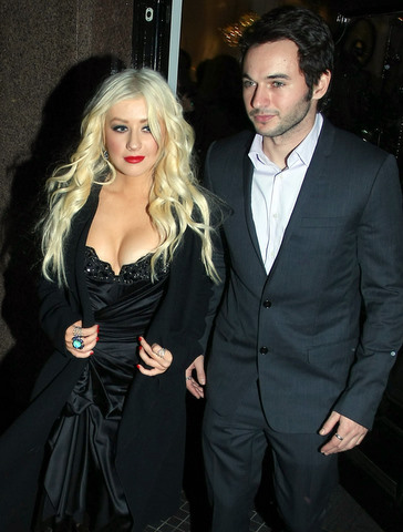 Xtina and new beau