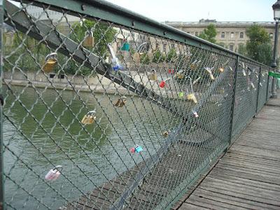 Locks on Pont des Art