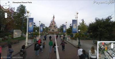 Disneyland, Paris - Google Street View