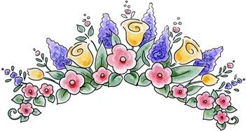 Spring Floral Topper