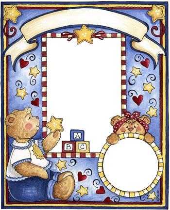 imagens decoupage clipart FR Teddy Bear