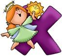 Angel Letter X