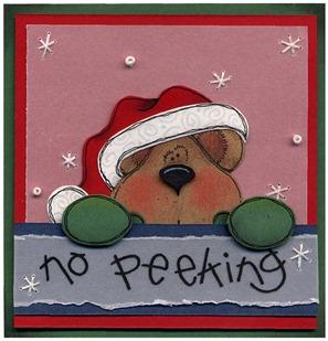 CD No Peeking Bear
