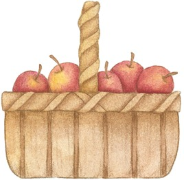 Basket of Apples-742568