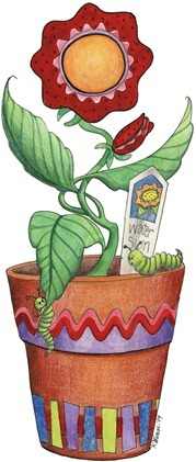 Potted Flower01