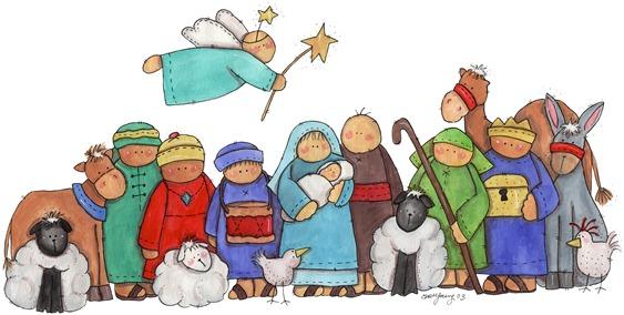 Imagens decoupage  BDR Nativity02