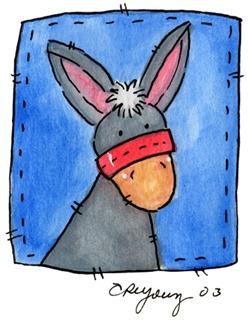 Imagens decoupage  Donkey