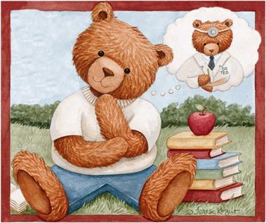 Thinking Bear