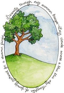 imagem decoupage clipart Serenity Tree