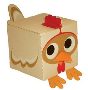 galinha box