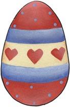 clipart imagem decoupage  Easter Egg02