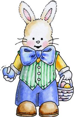 clipart imagem decoupage Boy Bunny