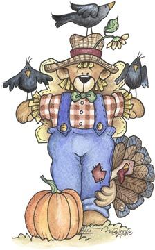 imagem decoupage clipar Scarecrow02