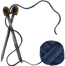 imagem decoupage clipart  FR Knitting