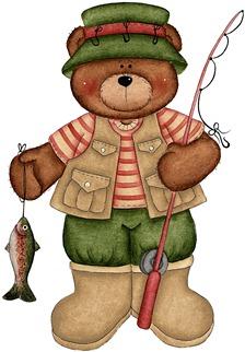 clipart imagem decoupage ursos  BEARING ALL SEASONS 14 (3)
