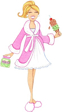 clipart imagens decoupage Midnight Cravings