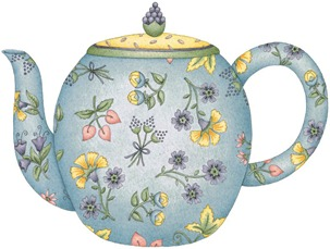 Floral Whimsey Teapot