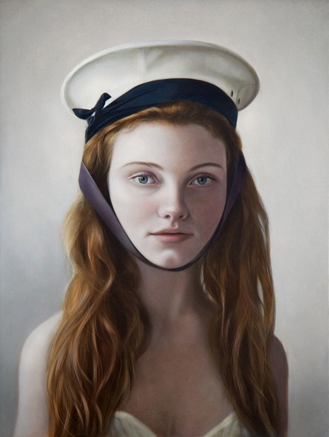 girl in a naval cap, mary jane ansell