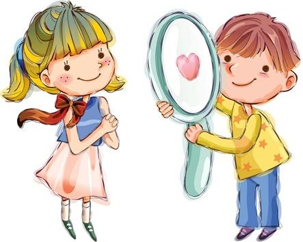 clipart imagem figura decoupage crianças (11)