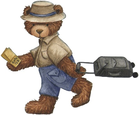 Bear With Luggage
