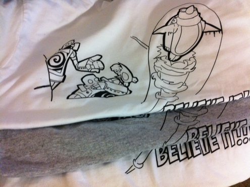 Tees from believe it