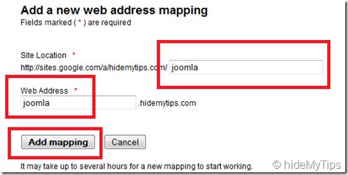 3_Web Address Mapping