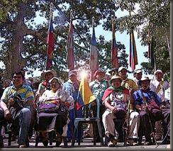 Indígenas contra Uribe