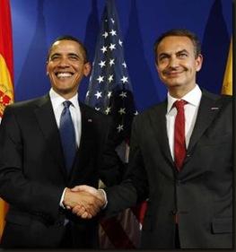Zapatero y Obama
