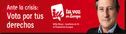 Elecciones Europeas IU - Movilízate por tus derechos