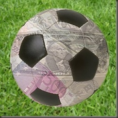 fútbol dinero