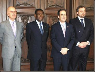 Durán i Lleida, Obiang, Bono, Arístegui