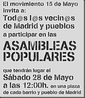 Asambleas 15 mayo