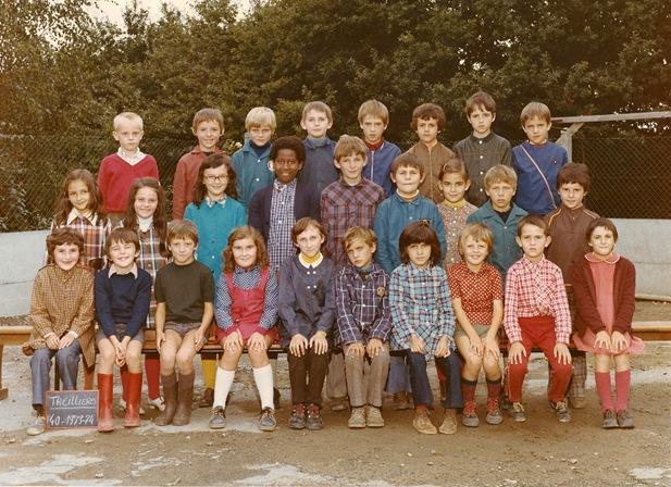 Classe Marie Lecoq 1973-1974