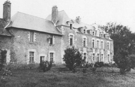 Le château de Gesvres au début du 20e